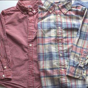 Janie and Jack shirt size 4